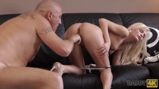 DADDY4K. Horny blondie wants to try someone little bit more experienced porno
