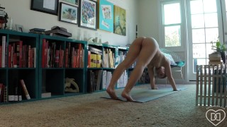 DaniDaniels.com 20 Naked Yoga