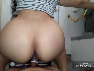 Latina booty bouncing on my dick