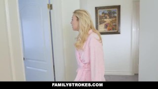 His familystrokes mom back fucks girlfriends stepson behind petite cumshot