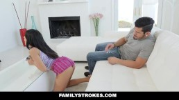 FamilyStrokes - Mom Fucks Stepson Behind His Girlfriends Back