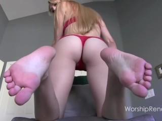 Big Feet JOI
