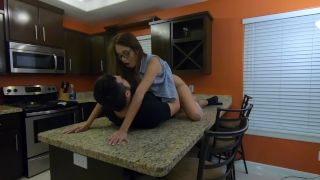Very Long Pussy eating and Kitchen Fuck by Lexi Aaane - 4K 60fps