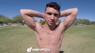 MenPOV Anal pounding in POV with Ian Greene and Hugo Diaz