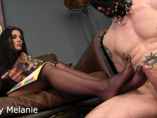 pantyhose ignored slow sexy teasing