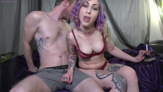 Cucked by Smoking HOT Babe Cattie Facial 4K UHD