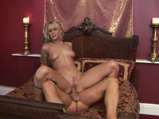 All natural blonde cynthia vellons gets rough fucking...