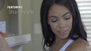 NFBusty - Shay Evans busty latina fucks a thick cock porno