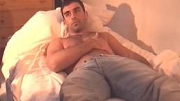 Bastian's big dick massage! (hetero male seduced for gay porn)