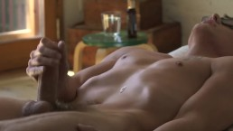 Blake Mitchell experiencing a complete orgasm