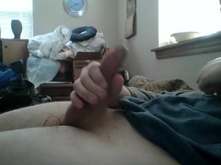 Jerk+Cumshot with E-Stim on my Asshole