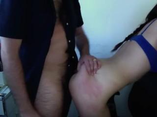 LASAPCOUPLE sexo duro en la oficina