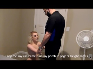 She Fucked the Pizza Delivery Guy
