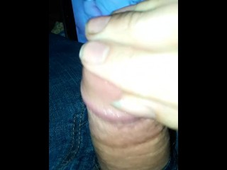 Masturbating To A Wife Getting Fucked In The Ass