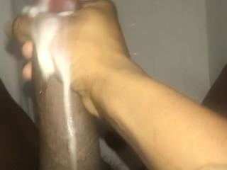 Beating off in the bath idgaf