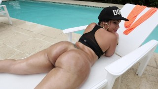 BANGBROS Big Booty Latina Destiny Gets Some Dick From Muthafuckin' J Mac
