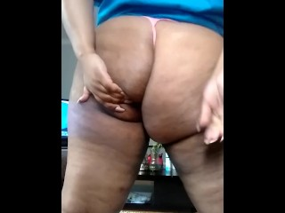 Fat Ass In A Thong