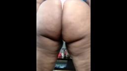 Fat Ass In A Thong