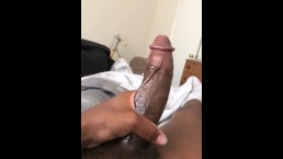 Big black dick masterbation