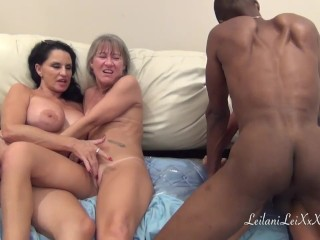PenisColada – Three Milfs and a Black Cock