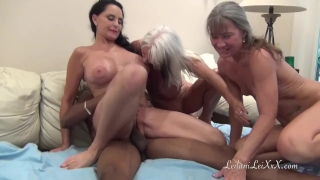 PenisColada - Three Milfs and a Black Cock Mother butt