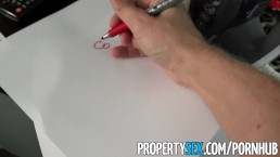 PropertySex - Hot petite blonde teen fucks her roommate