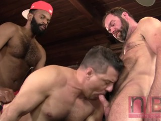 Topher Phoenix & Alecto Vice Bench Fuck Rod Drainer