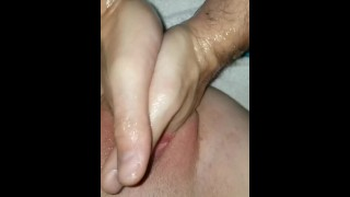 Male to female hard pussy fisting - Double fist training