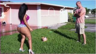 BANGBROS Latina Rose Monroe's Big Ass Bouncing On Sean Lawless's Cock