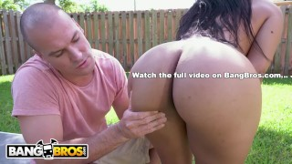 BANGBROS - Latina Rose Monroe's Big Ass Bouncing On Sean Lawless's Cock Step natural
