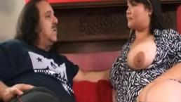 Mixed Japanese Irish bbw hairy Kelly Shibari fucked by Ron Jeremy. [Rare]