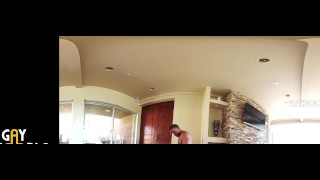 2 Muscle Jocks Fucks In VR360 HOT JOCK SEX! Sport massage