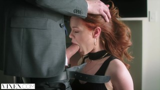 VIXEN Ella Hughes Begs To Be Tied Up and Dominated porno