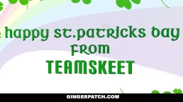 GingerPatch - Hot Ginger Pepper Hart St. Patty's Day Fuck