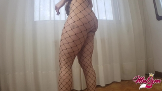 Perfect Teen Ass in fishnet, Yoga At Home, Sex on the floor... Pkm prettykittymiaos