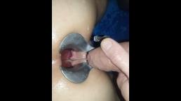 pee in open ass