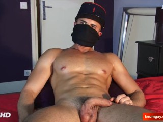 Anis handsome hetero male in a porn in spite of him