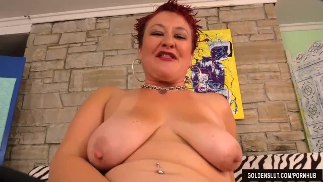 Mature Redhead Plays with Herself Before Fucking 6