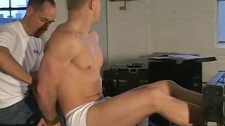 Muscular jock Alex is tied up and tickled on his sexy feet Facial daddy