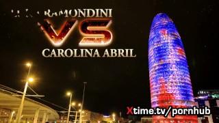 Luna Ramondini VS Carolina Abril - italian porn exclusive Babe on