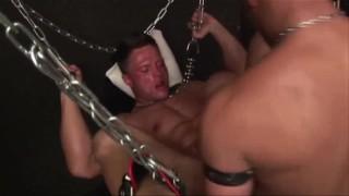 Sperm games - interracial hardcore sex action