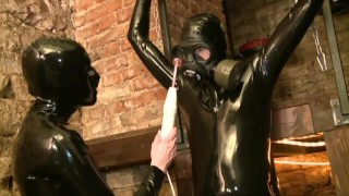 Rubber fetish - sperm games german fuck extreme