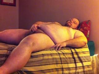 Full-body stroke & shoot to some hot straight porn