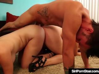 Busty Babe Siri Pornstar & Melody Jordan - Leg & Calf Fucked