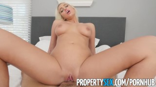 PropertySex - Good looking agent fucks home owner for listing