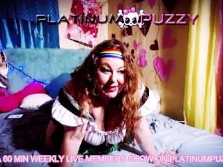 PlatinumPuzzy.com Members Live Show March 8, 2018