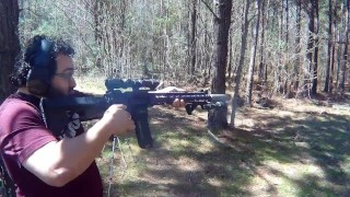 Suppressed Bump Fire