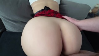 Big Ass Schoolgirl has sex Taboo son