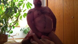 Having fun with a silver daddy admirer