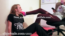"""""""Nothing But A Foot Cleaner..."""" Trailer! Femdom, Foot Fetish, Foot Worship"""